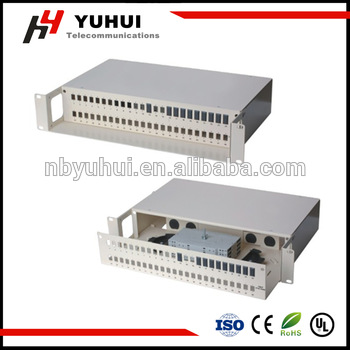96 Core Fiber Optic Patch Panel