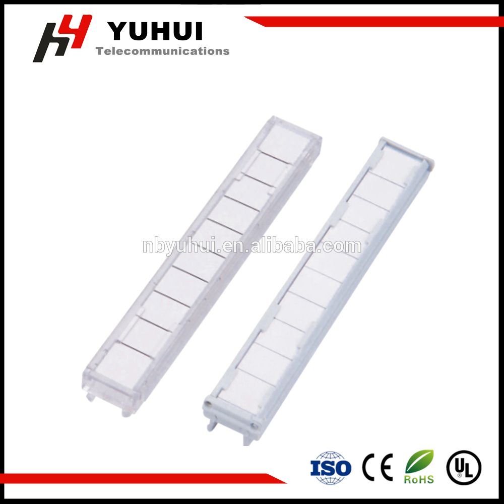 10 Pair Hinged Label Holder