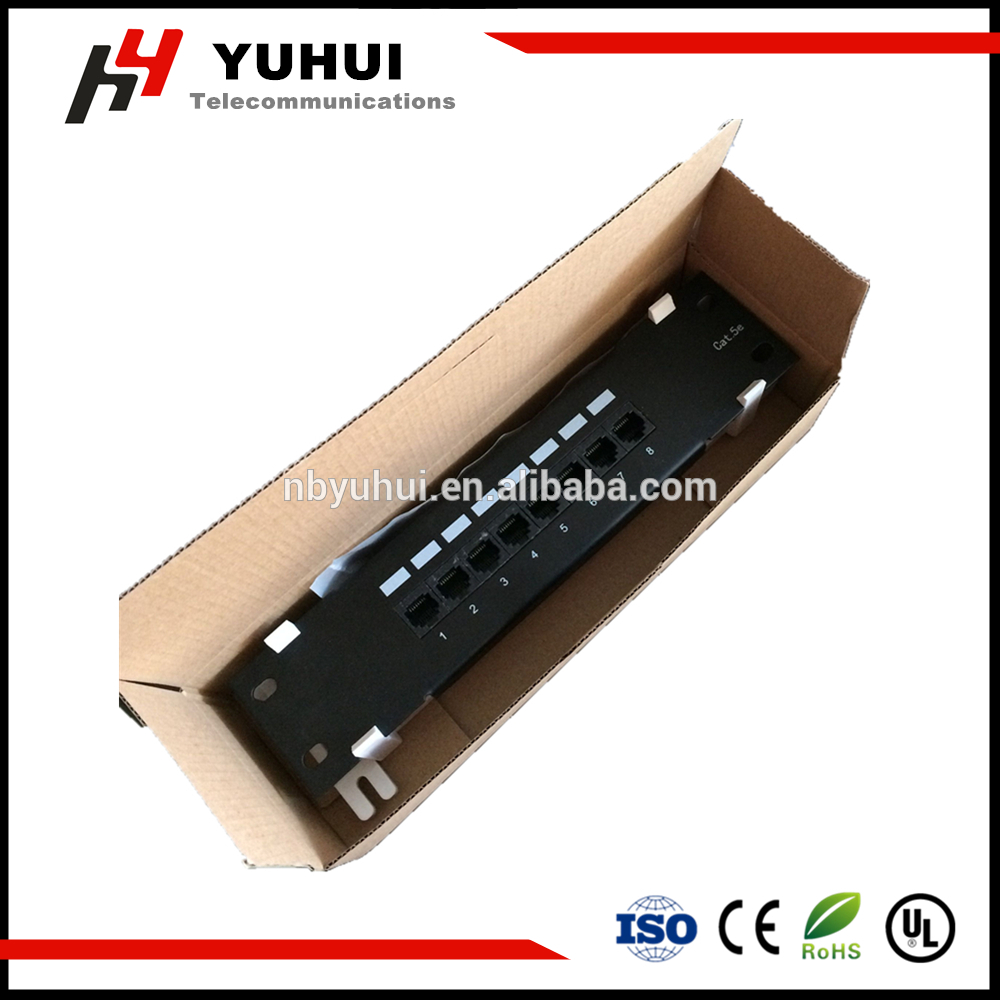 8 Port Patch Panel