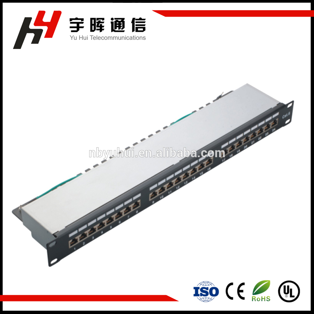 24 Port Shield Patch Panel