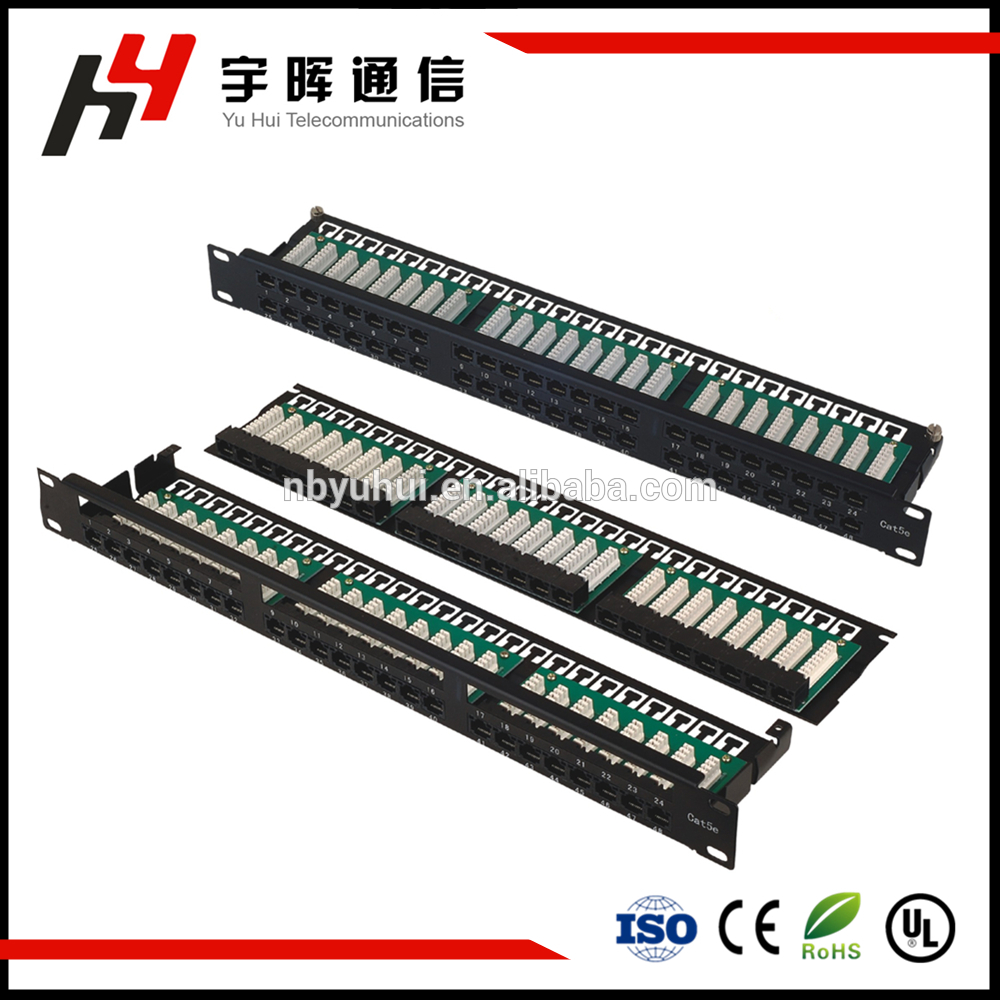1U 48 Port Patch Panel