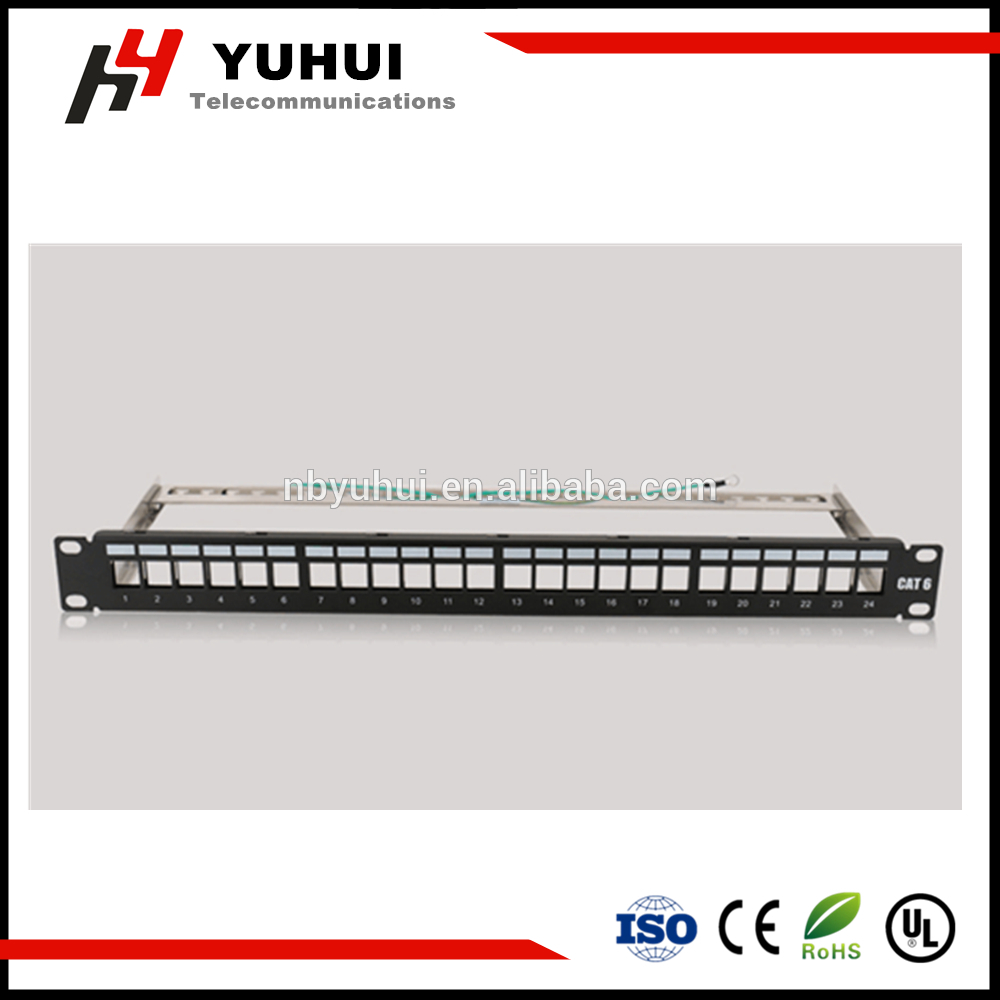 Empty Patch Panel