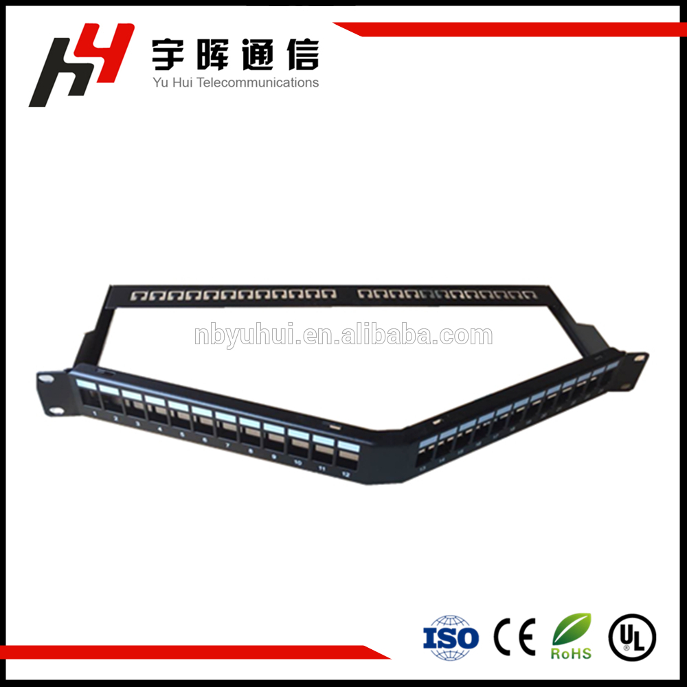 Unloaded Patch Panel