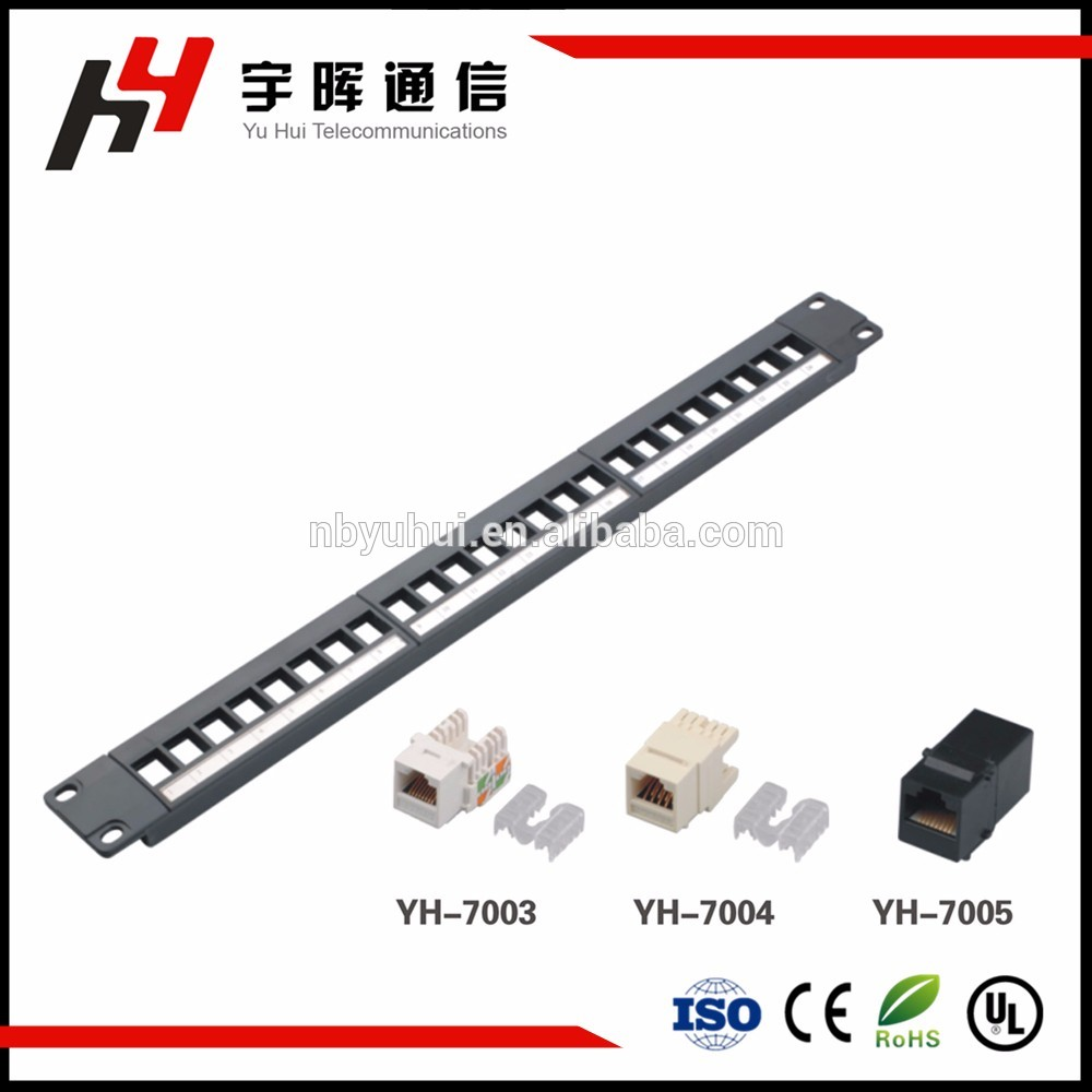 Unloaded Patch Panel Manufacturers And Suppliers China Factory 568b Wiring Break Up The Normal Straight Panelconsidering From Easy Operation In Application With Angle Design Angled Panels Are Ideal For 19 Rack Applications